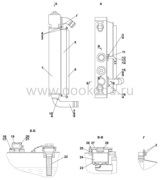 2502-60-128СП Установка радиаторная